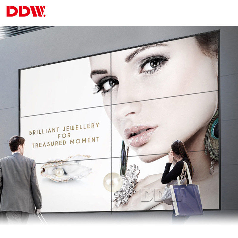 Advertising 32 Dot Large Touch Screen Wall , 46 Inch 3.5mm Touch Screen Wall Display