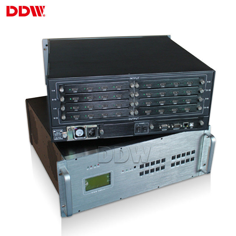 Customized Video Matrix Processor , Meeting Room Control Software HD Video Wall Controller