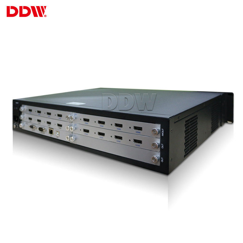 Rental Business 4k Video Wall Controller 4x4 , 70 Meters Video Display Controller