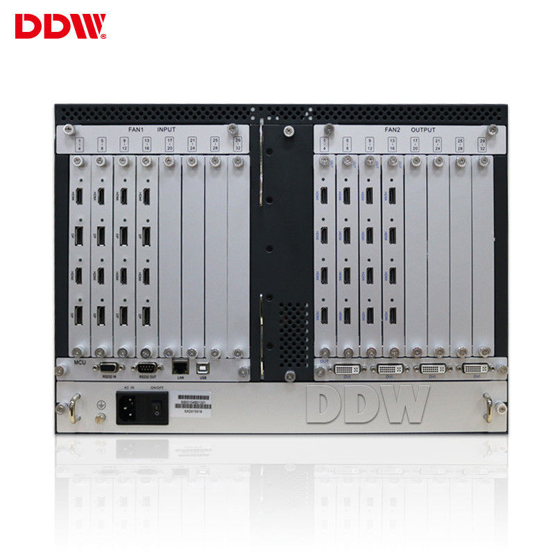 1920x1080 4x4 HDMI Video Wall Controller For LCD Video Wall System DVI VGA
