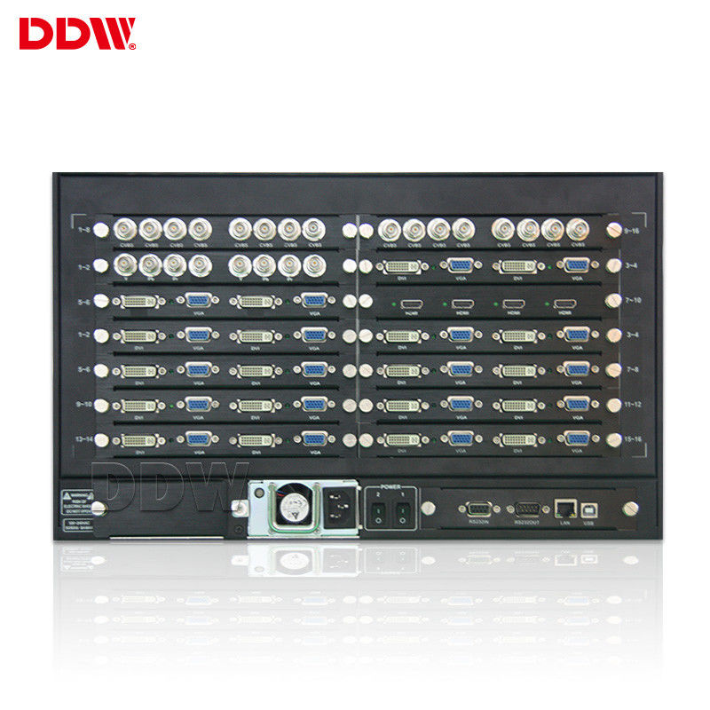 HDMI VGA HD PC Video Wall Controller 9 Input 9 Output Signals For Meeting Room