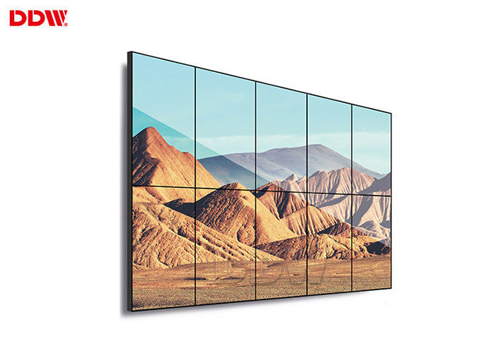 Commercial Grade DDW LCD Video Wall For Retail Shopping Mall Advertising
