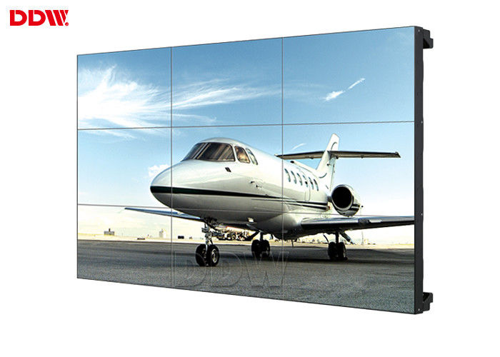 Anti Glare Multi Screen Video Wall , Stable Performance Lcd Wall Display Screen