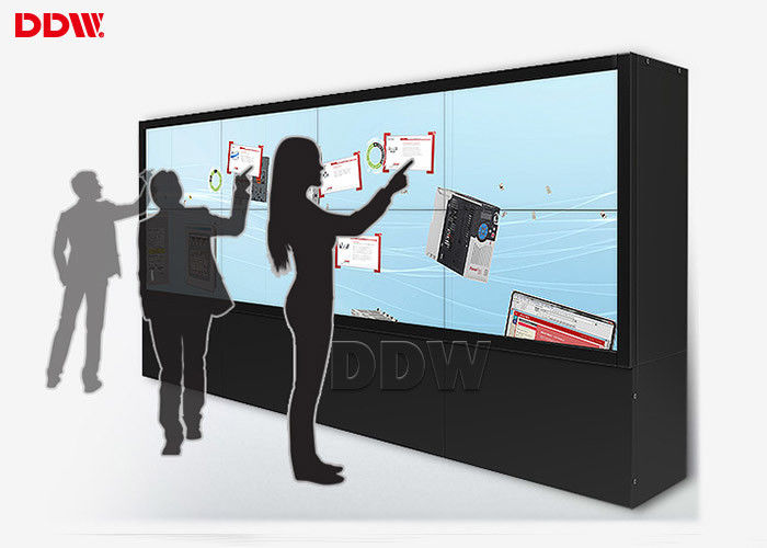 Anti Glare Video Wall Equipment / Dynamic Image Interactive Video Display
