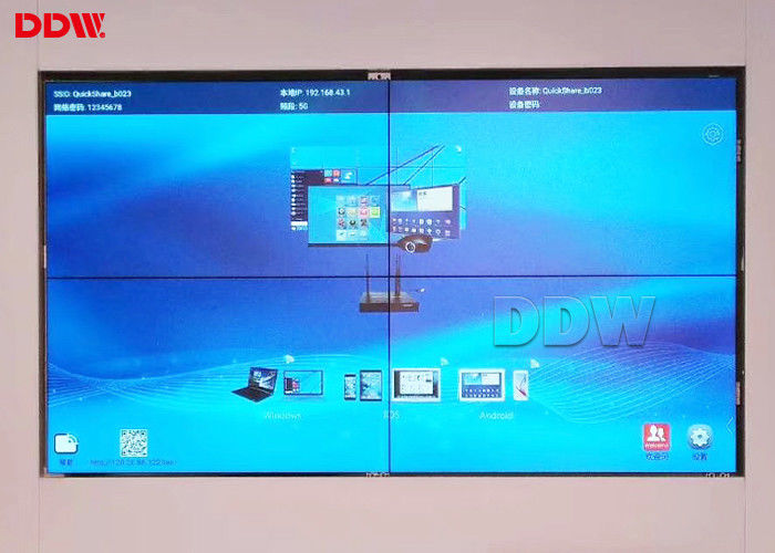 Multi Display Seamless Video Wall , Large 4x4 Video Wall Advertising