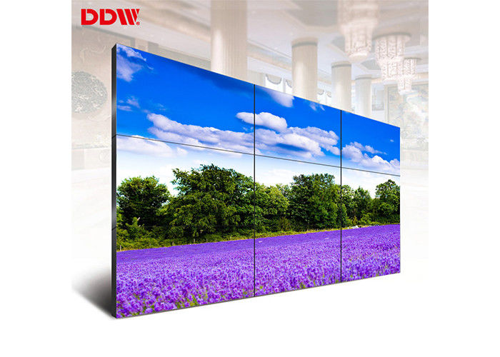 Stable Operation 46 LCD Video Wall Display High Definition Display 1080P