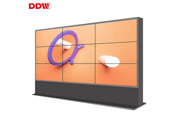 Wall Mounted Vga LCD Video Wall Display Support Matrix Joint Control