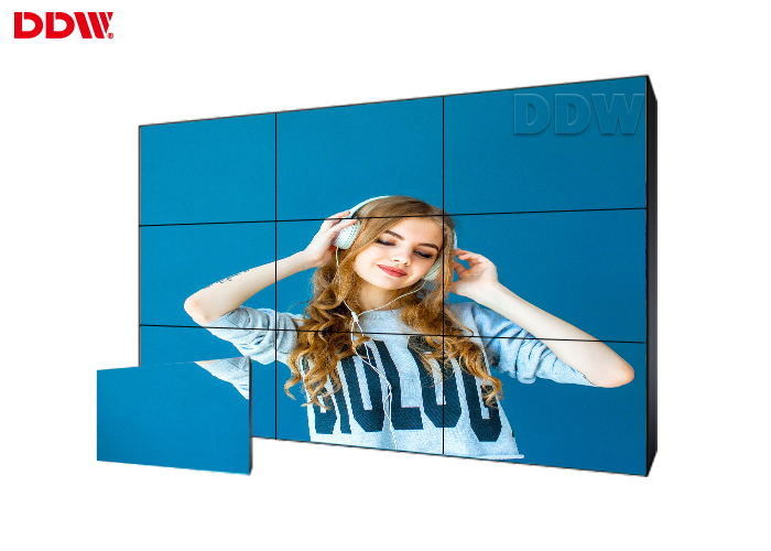 Modular Design 1.7 Mm DDW LCD Video Wall For Home Theater High Contrast