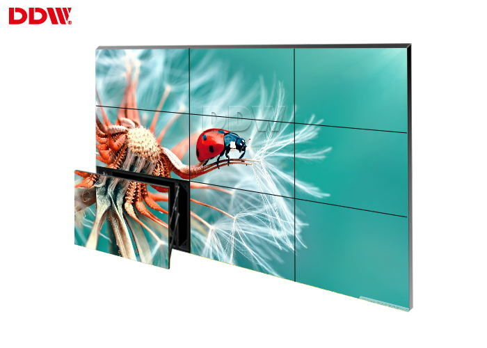 Wireless Wall Mounted Video Wall , Full Color Large Touch Screen Wall