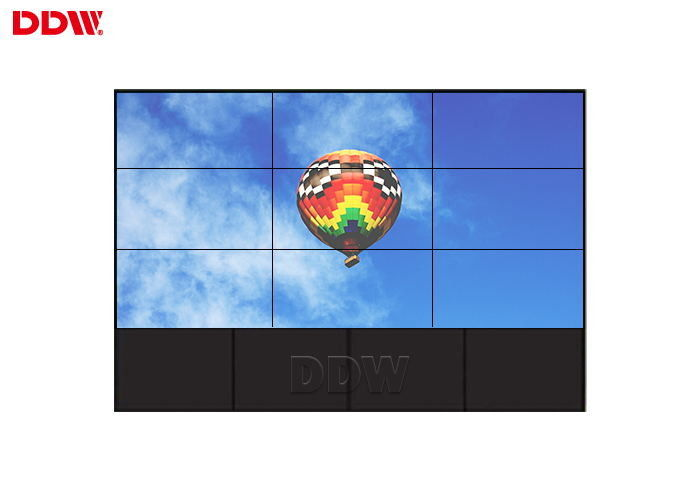 Indoor Horizontal DDW LCD Video Wall Built In Splicing Module 1920*1080