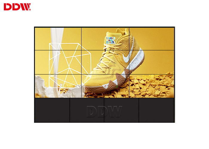 High Brightness 3x3 Video Wall / Samsung Panel Touch Screen Wall Display