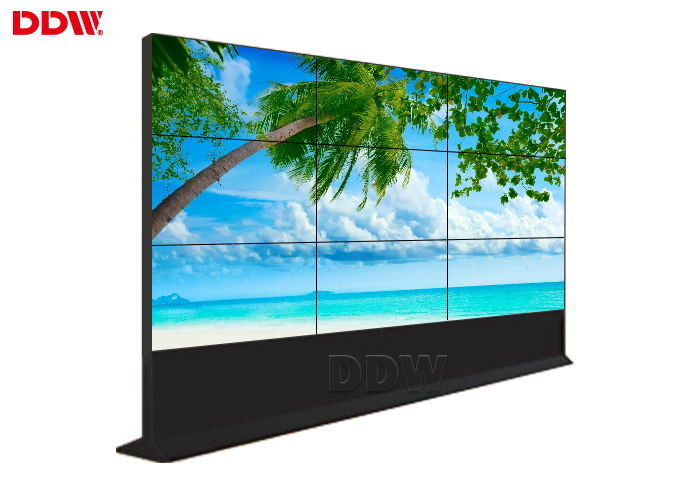 Large Outdoor Lcd Video Wall Multi Screen , DDW Touch Screen Video Wall