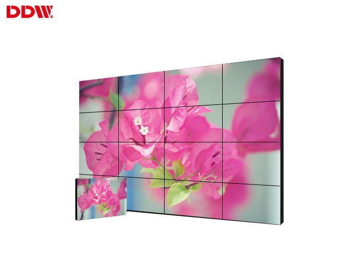 Touch Screen Thin Bezel Video Wall , Control Room Video Display Screen