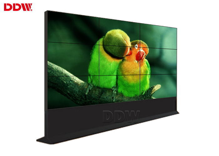 Touch Screen Seamless LCD Video Wall , Monitor Multi Display Video Wall